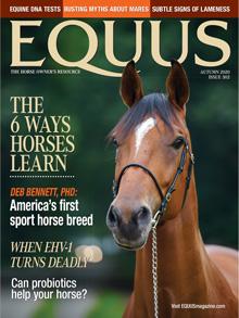 Image of EQUUS Magsazine Cover