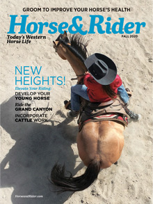 image of Horse and Rider Magazine Cover